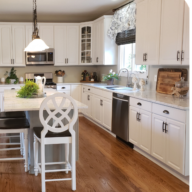 How To Paint Beautiful Kitchen Cabinets In 9 Easy Steps